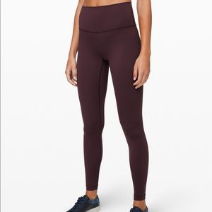 "Lululemon's Wunder Under HR tight 28"" leggings"